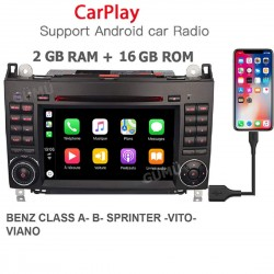 Autoradio gps ANDROID / CARPLAY MERCEDES CLASS A ET B