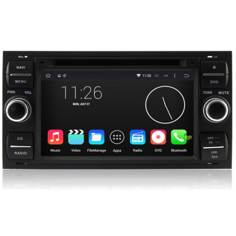 autoradio android lollipop gps ford kuga c max s max fiesta focus fusion transit mondeo. Black Bedroom Furniture Sets. Home Design Ideas