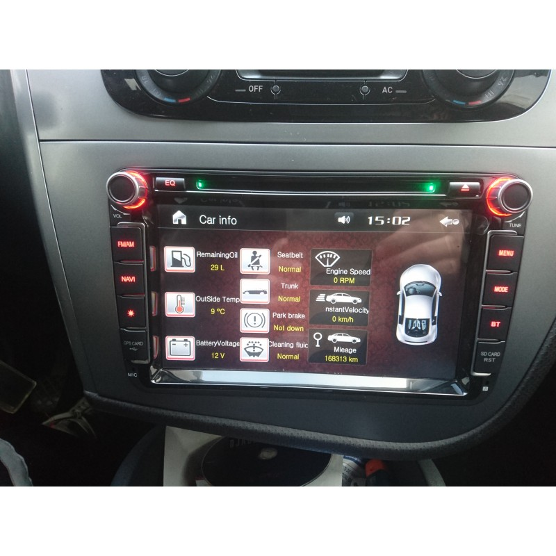 autoradio gps seat leon 2 altea alhambra toledo gpsdiscount. Black Bedroom Furniture Sets. Home Design Ideas