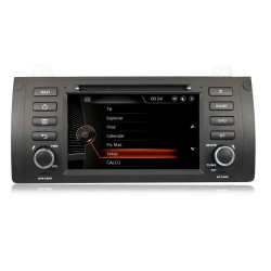 Autoradio BMW E39 ET E53 X5 ORIGINAL MENU