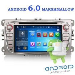 Autoradio gps FORD FOCUS , MONDEO , S-MAX - C-MAX , Galaxy   ANDROID 6.0