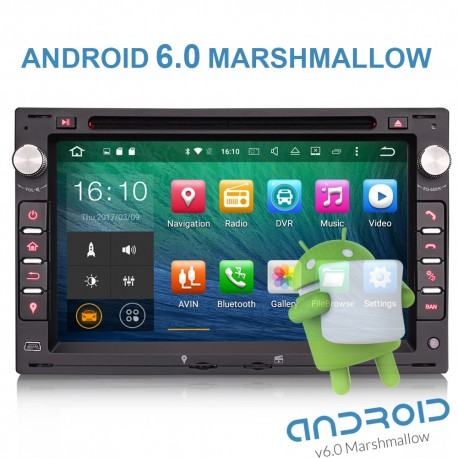 Autoradio gps double din   ANDROID 6.0