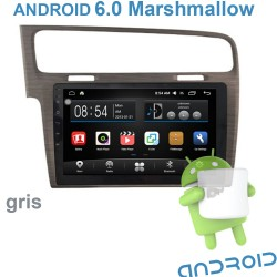 AUTORADIO GPS  GOLF 7  GRIS   ANDROID