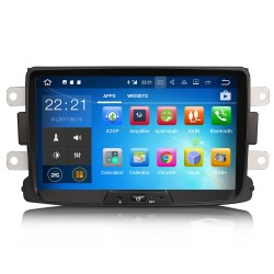 Autoradio GPS Wifi Bluetooth Android Dacia Duster, Dokker, Lodgy & Sandero