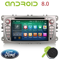 Autoradio GPS Ford Mondeo, Focus, S-Max, Galaxy ANDROID 8.0