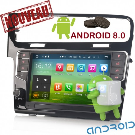 AUTORADIO GPS  GOLF 7 ANDROID